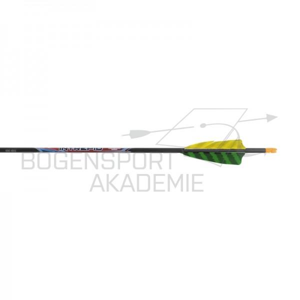 "BlackEagle Intrepid .165 Fertigpfeil Naturfdern 3"""