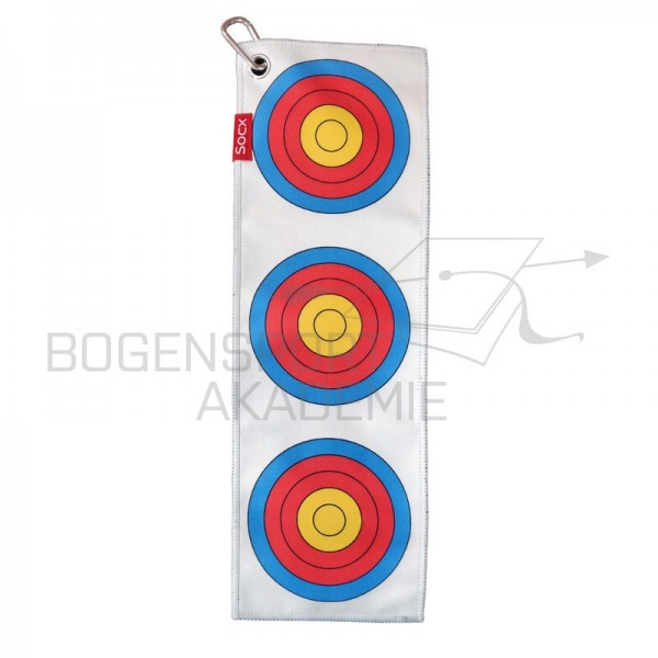 Socx Eat Sleep Archery Repeat Handtuch 3 Spot