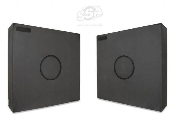 Avalon Foam Target Single Center 60x60x21cm mit Wechsrelkern 30x21cm