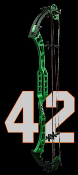 OK Archery Absolut 42 inkl. 2 STS