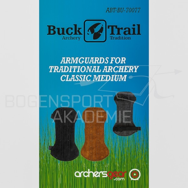 BuckTrail Armschutz Classic Medium braun