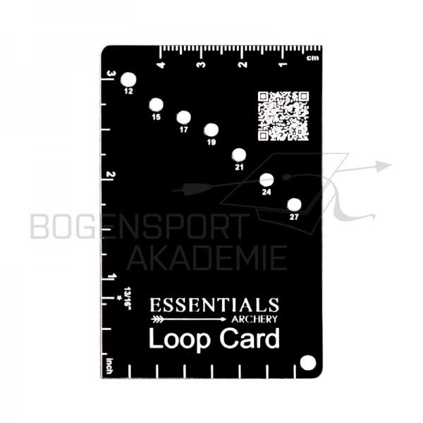 Essentials Archery LoopCard