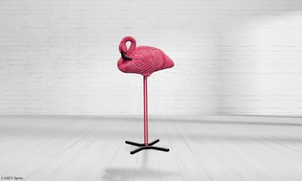 Asen Flamingo schlafend inkl. Ständer