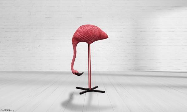 Asen Flamingo fressend inkl. Ständer